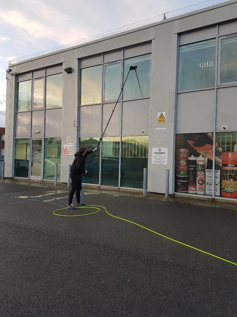 Commercial Window Cleaning in Bognor Regis