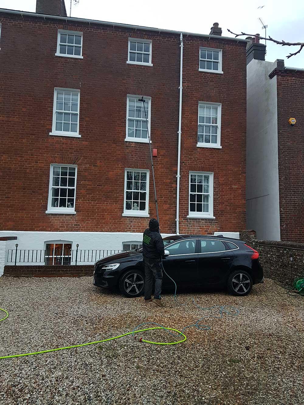 Pole Window Cleaning in Bognor Regis